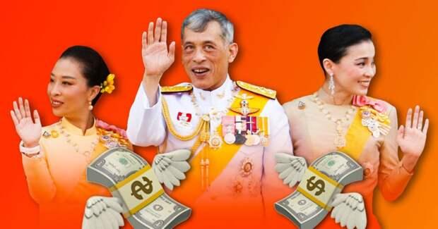 Король Таиланда самоизолировался в роскошном отеле с любовницами