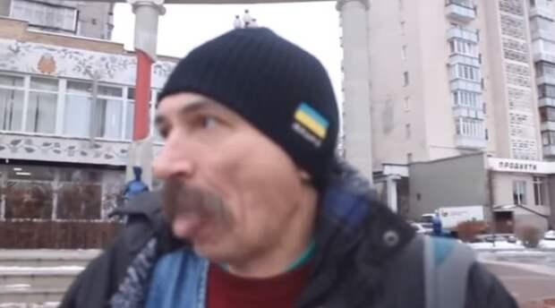 Оголтелый майдаун: с роднёй в Донбассе я буду разговаривать с помощью автомата