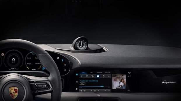 Porsche встроит в свой электромобиль музыку Apple
