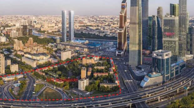 Филиал Патриарших прудов: согласован проект новых небоскрёбов «Москва-Сити»