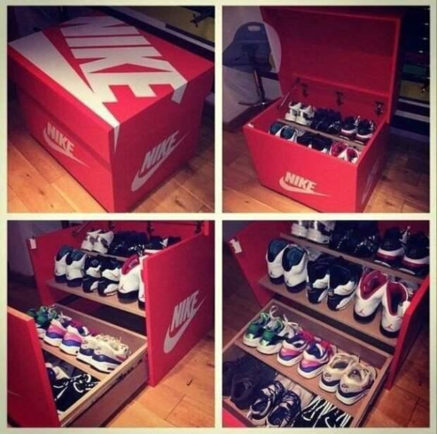 Хранение коллекции кроссовок