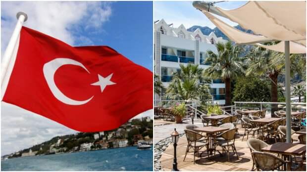 """Блогер: турецкие отели массово закрываются и откладывают открытие / Коллаж: ФБА """"Экономика сегодня"""""""