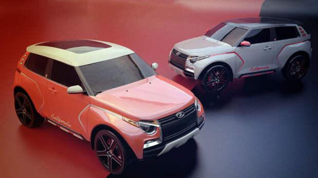 Lada California – концептуальный вариант новой «Нивы».