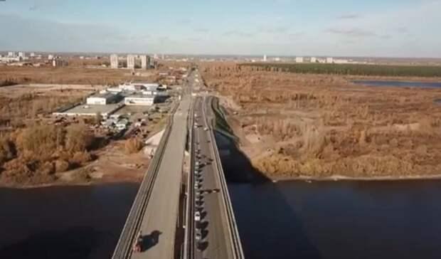 В Тюмени установлено основание развязки на пересечении улиц Мельникайте и Дружбы