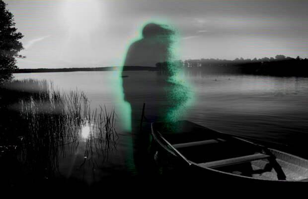 Призрак на озере