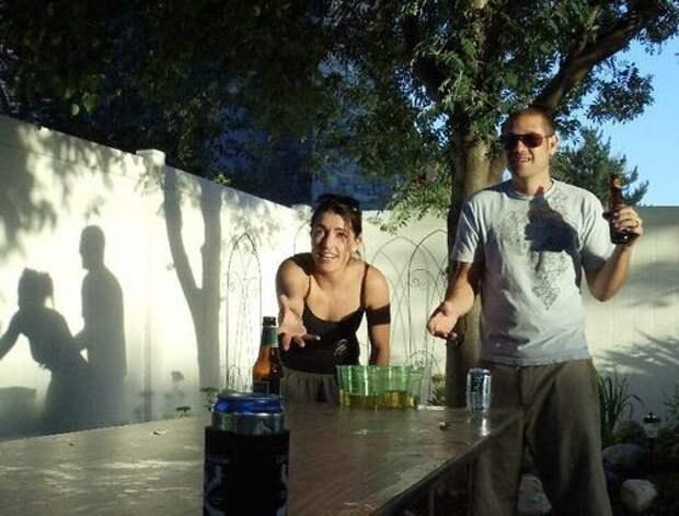 Смешные тени (12 фото)