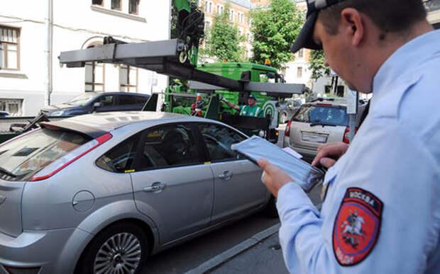 В Москве увеличат число пеших эвакуаторщиков