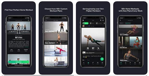 Тело мечты: лучшие приложения для продуктивных домашних тренировок