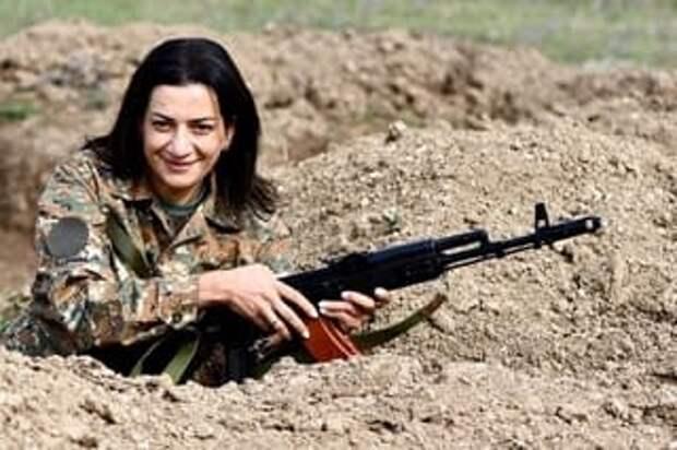 Ованнисян: в Армении сформирован первый женский батальон