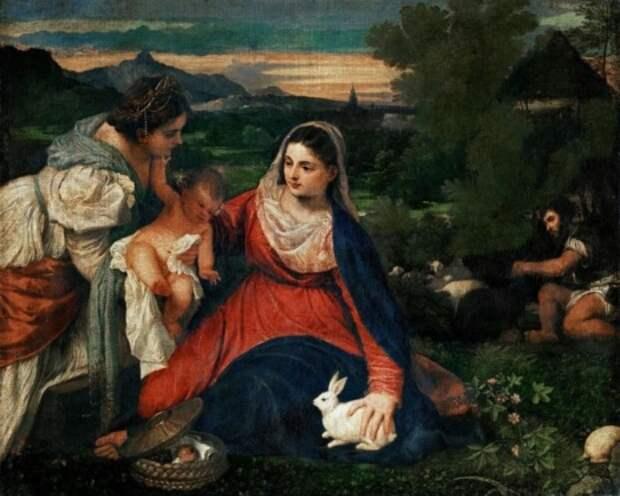 художник Тициан Вечеллио (Tiziano Vecellio) картины – 11