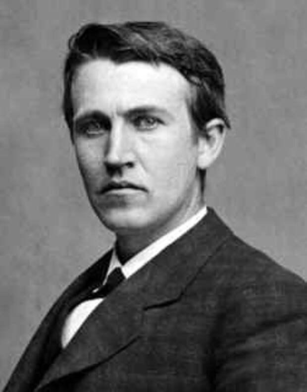 Томас Эдисон - фото в молодости.