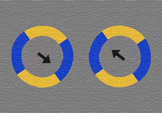 Эта оптическая иллюзия покорила интернет и стала вирусной