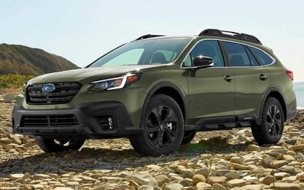 Subaru Outback стал еще прочнее и мощнее