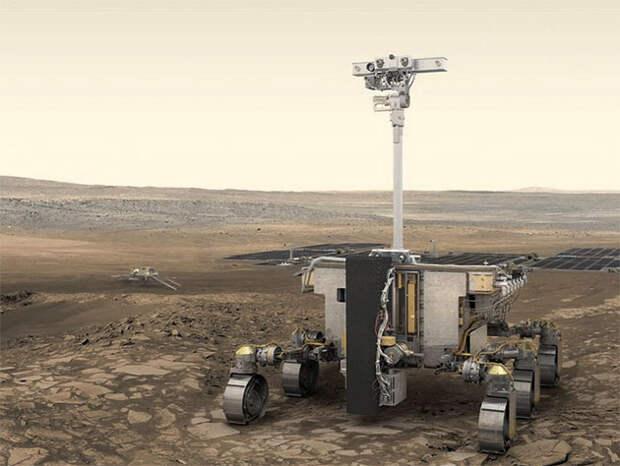 """ESA и """"Роскосмос"""" перенесли запуск миссии """"ExoMars"""" на два года"""