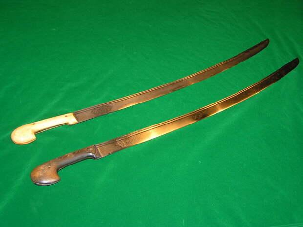 Боевые шашки – самое популярное длинноклинковое оружие в мире
