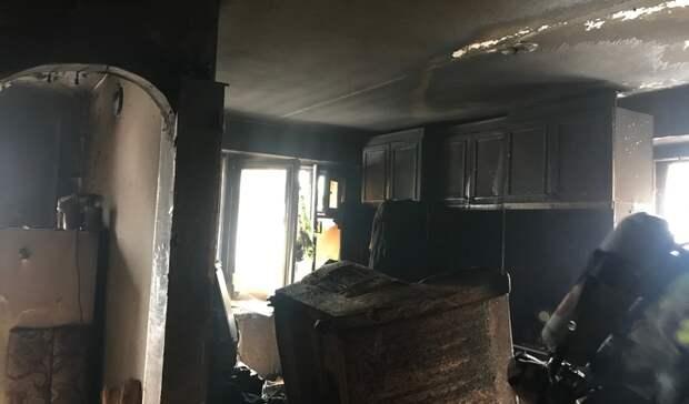 Погибла хозяйка квартиры при пожаре напроспекте Мира вНижнем Тагиле