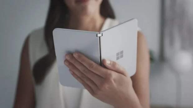 Microsoft представила Android-смартфон Surface Duo с двумя экранами