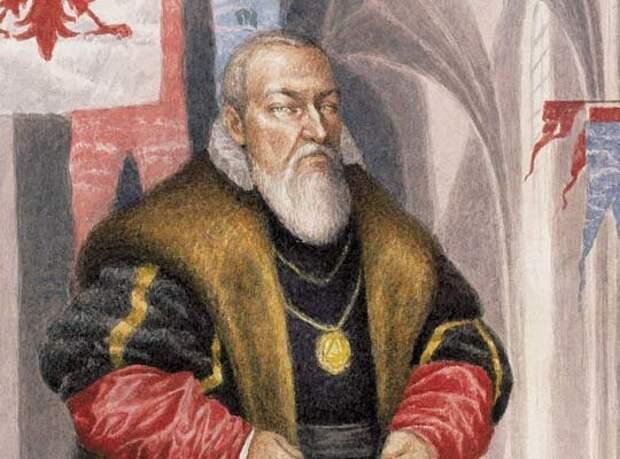 Великий магистр Тевтонского ордена Альбрехт Гогенцоллерн из династии Бранденбургских Гогенцоллернов