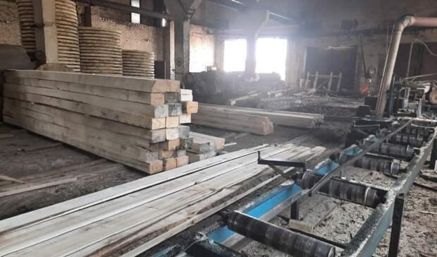 Две пилорамы незаконно работали в Ярском районе Удмуртии