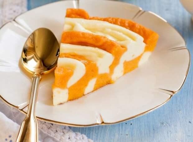 Мраморный тыквенный пирог. \ Фото: fountravel.ru.