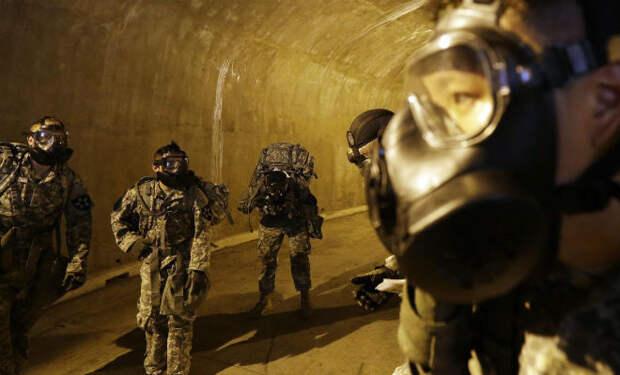 Секретные подземные тоннели Северной Кореи