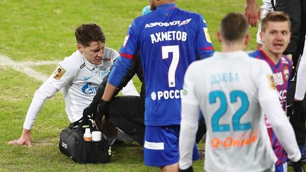 Дивеев: «После удаления Ахметова в матче с «Зенитом» мы минут 10-15 не понимали, как играть»