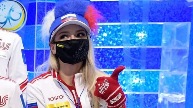 «Мы пели в голос!» Синицина — о гимне России после победы на командном чемпионате мира