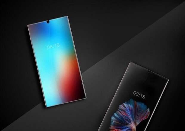 Sharp создала полностью безрамочный смартфон, который «заткнет за пояс» iPhone 8