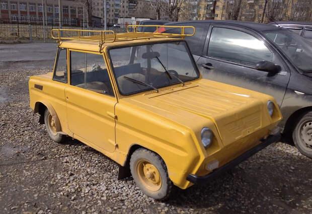 Безобразные уродцы советского автопрома.