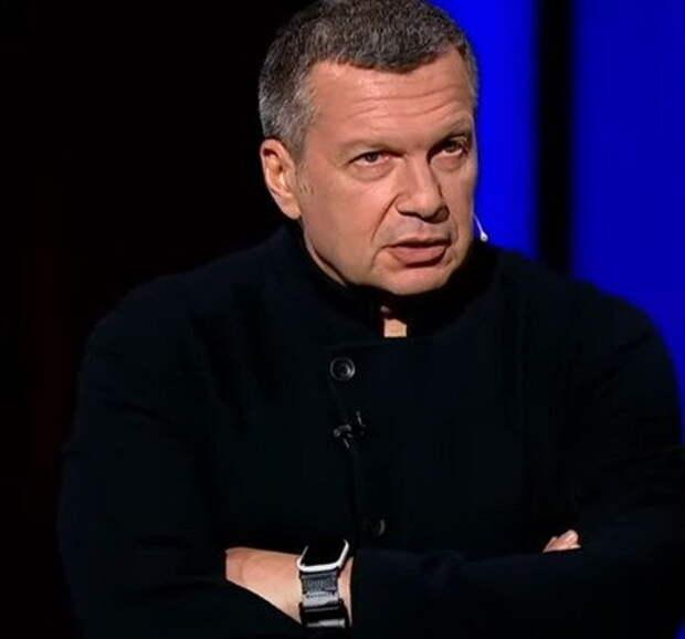Программа Владимира Соловьева подверглась цензуре в Белоруссии