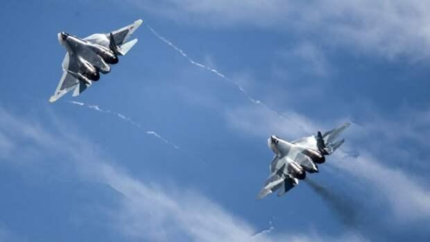 Military Watch рассказало о важности для ВКС России Су-57 и Су-35...
