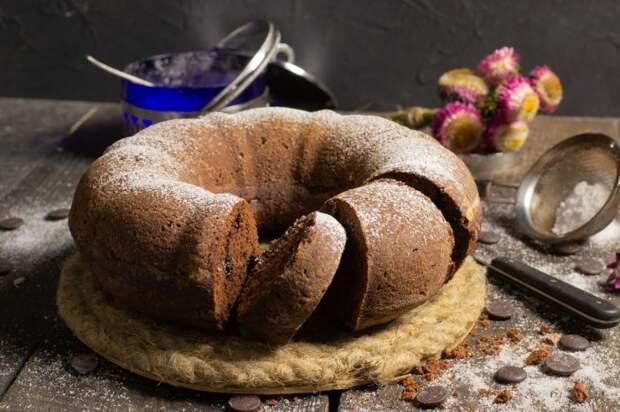 Шоколадный пирог \ Фото: pinterest.ie.