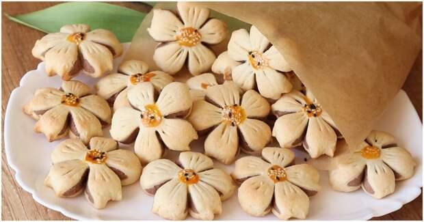 Создайте весеннее настроение с помощью чудесного печенья в виде цветов