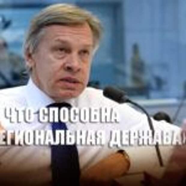 «Не смешите людей»: Пушков посмеялся над планами конгресса США по «СП-2»