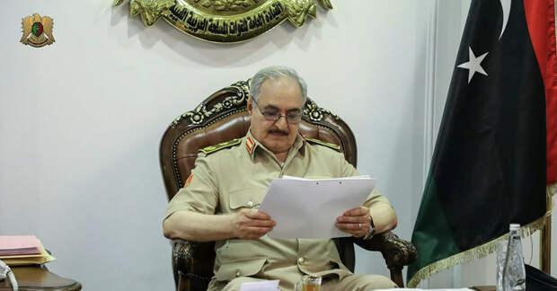 The Libyan Observer: маршал Хафтар вступил в переговоры по Ливии с США