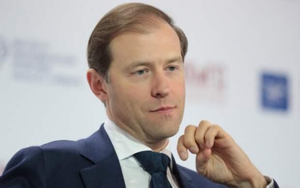 Мантуров заявил о дефиците защитных костюмов и аппаратов ИВЛ