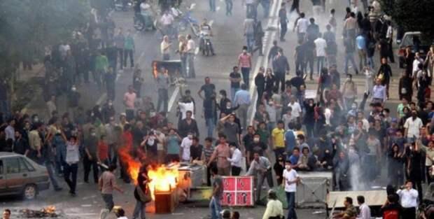 Начиная с декабря 2017 года в Иране не стихают акции протеста