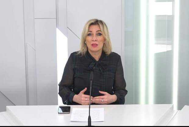 Захарова назвала энергетической войной действия Украины по отношению к Крыму