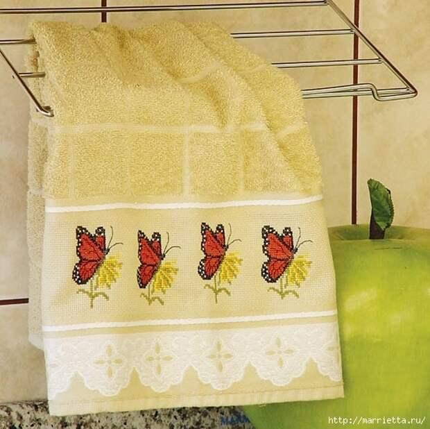 Вышивка на полотенце. СХЕМЫ (2) (531x530, 178Kb)