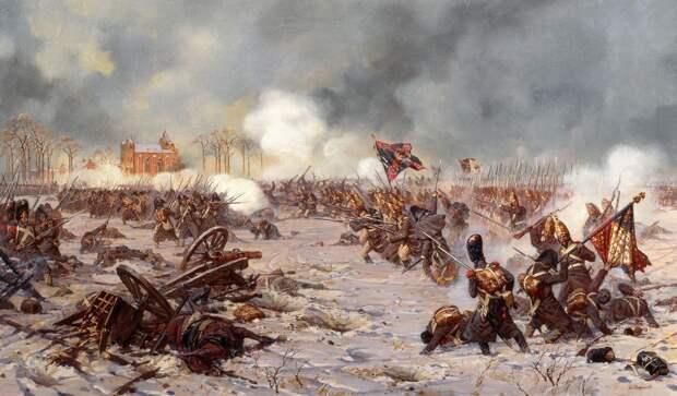 Сражение у Прейсиш-Эйлау 1807г.