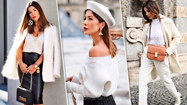 6 женственных образов со светлыми вещами — отлично подходят, если вам 35+