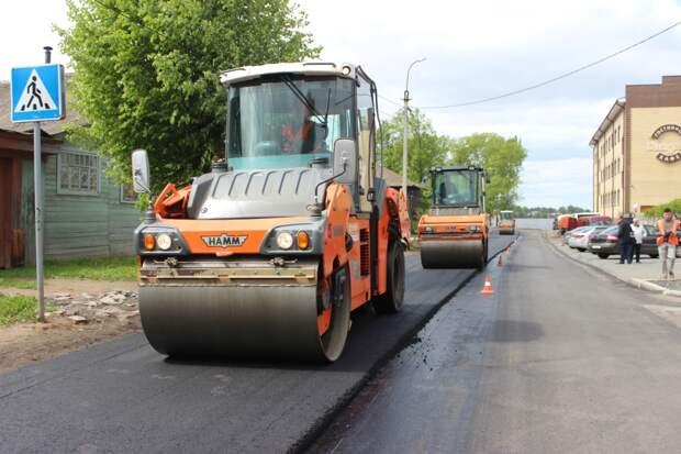 Два участка дороги в Воткинске подрядчик переделает за свой счет