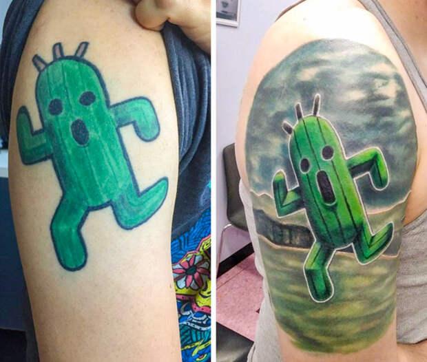 Татуировкам тоже можно дать второй шанс