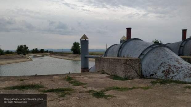 Проблема Северо-Крымского канала решена: Россия строит новый тракт водоподачи