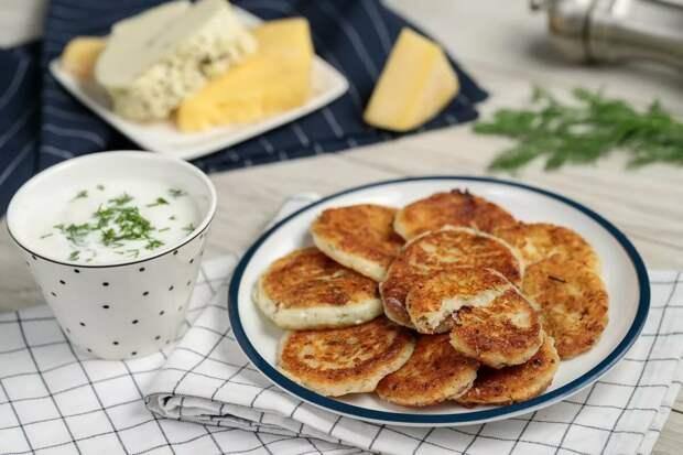 Мега аппетитные сырные лепешки