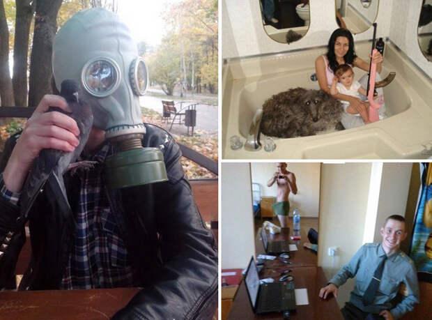 Подборка фотографий, на которых непонятно что вообще происходит (30 фото)