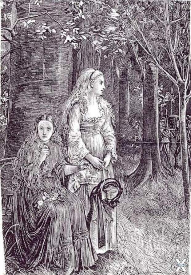 Лора и Кармилла - свидетели похоронно...