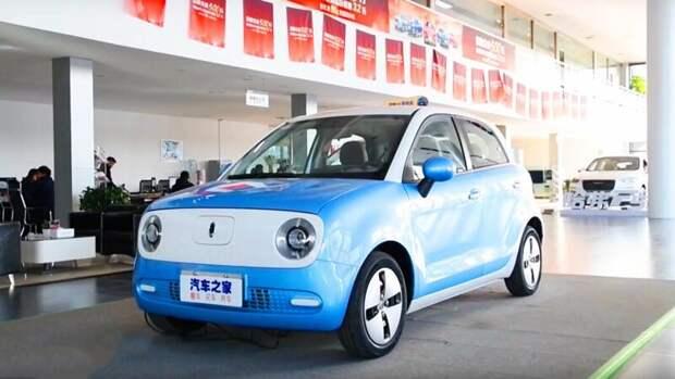 Китайцы сделали электромобиль дешевле LADA (убийца Теслы?) китайцы, тесла капут, электромобиль