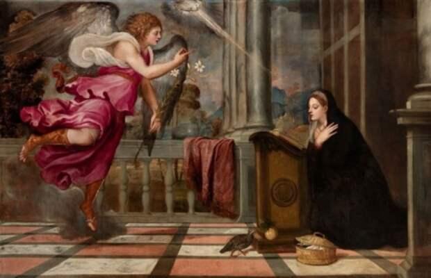художник Тициан Вечеллио (Tiziano Vecellio) картины – 01