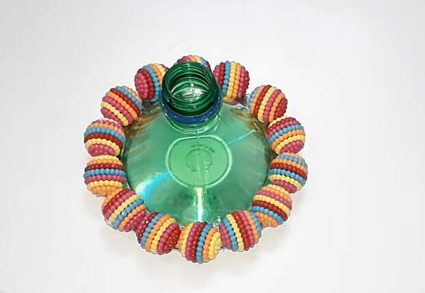 Крутая идея переработки пластиковых бутылок